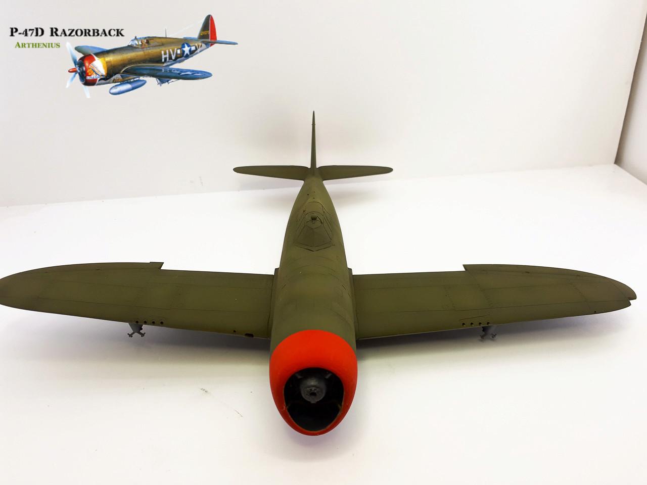 P-47D Razorback - Tamiya 1/48eme + PE Eduard - Page 3 2018-268