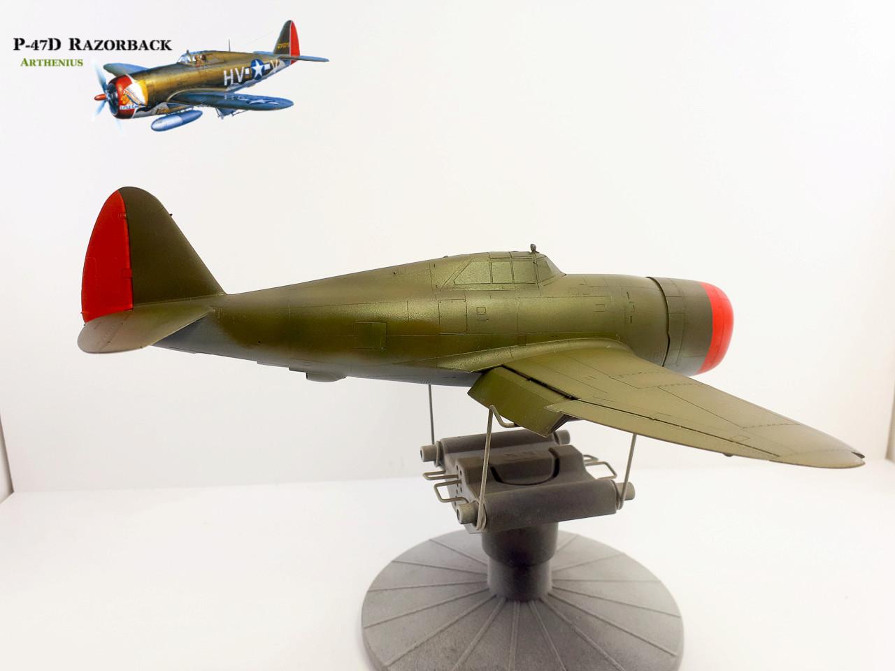 P-47D Razorback - Tamiya 1/48eme + PE Eduard - Page 3 2018-271