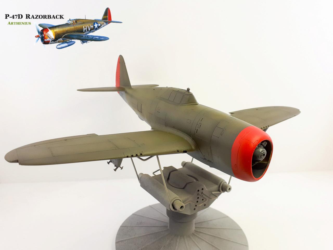 P-47D Razorback - Tamiya 1/48eme + PE Eduard - Page 3 2018-272