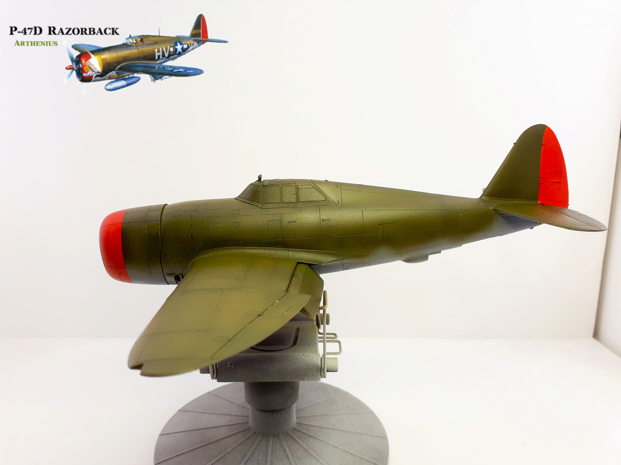 P-47D Razorback - Tamiya 1/48eme + PE Eduard - Page 3 2018-274