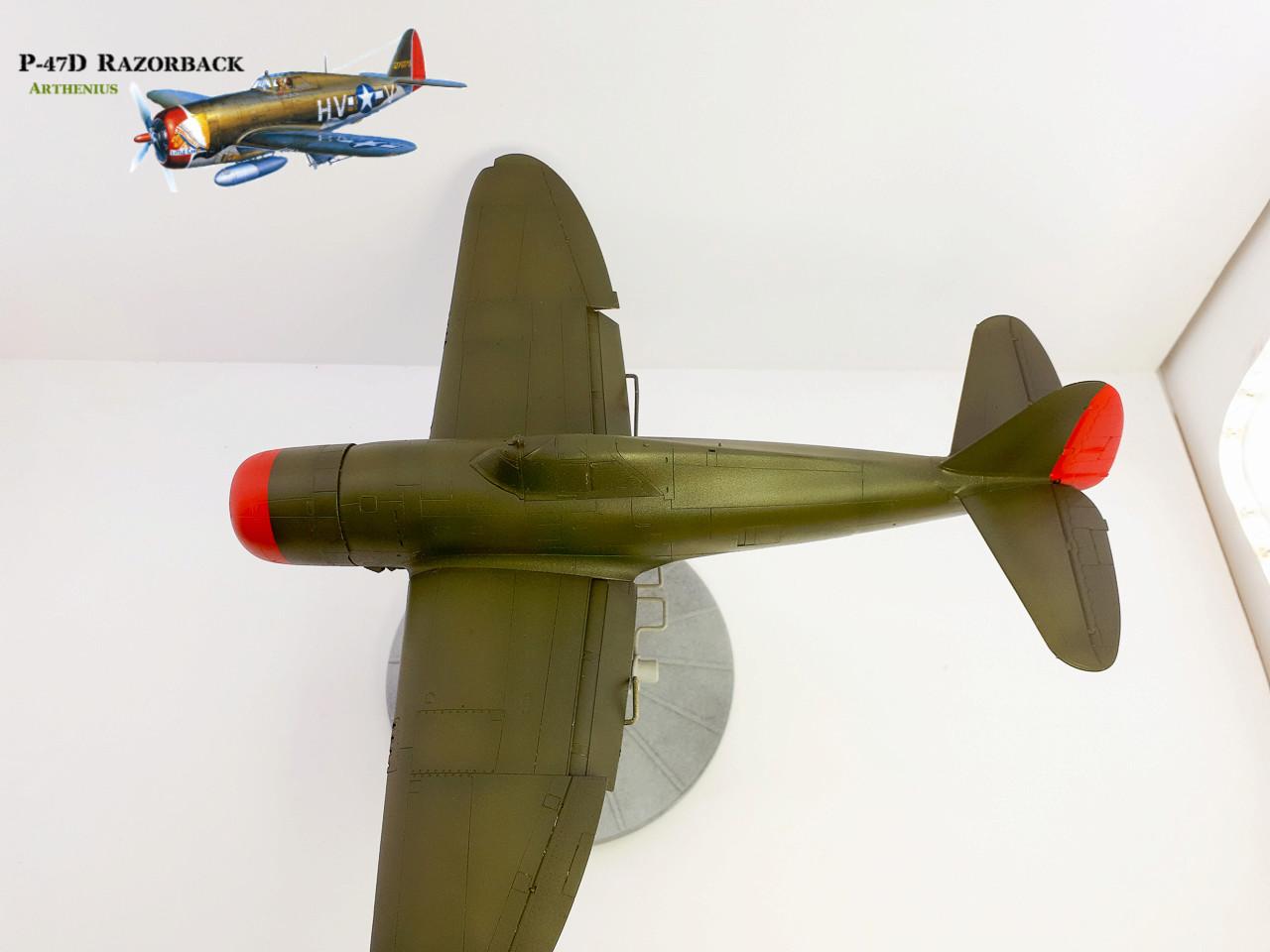 P-47D Razorback - Tamiya 1/48eme + PE Eduard - Page 3 2018-275