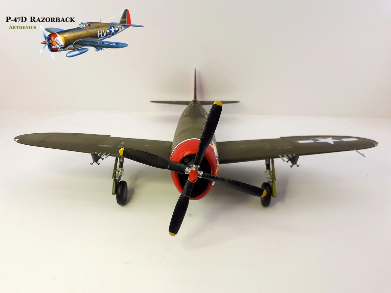 P-47D Razorback - Tamiya 1/48eme + PE Eduard - Page 3 2018-283