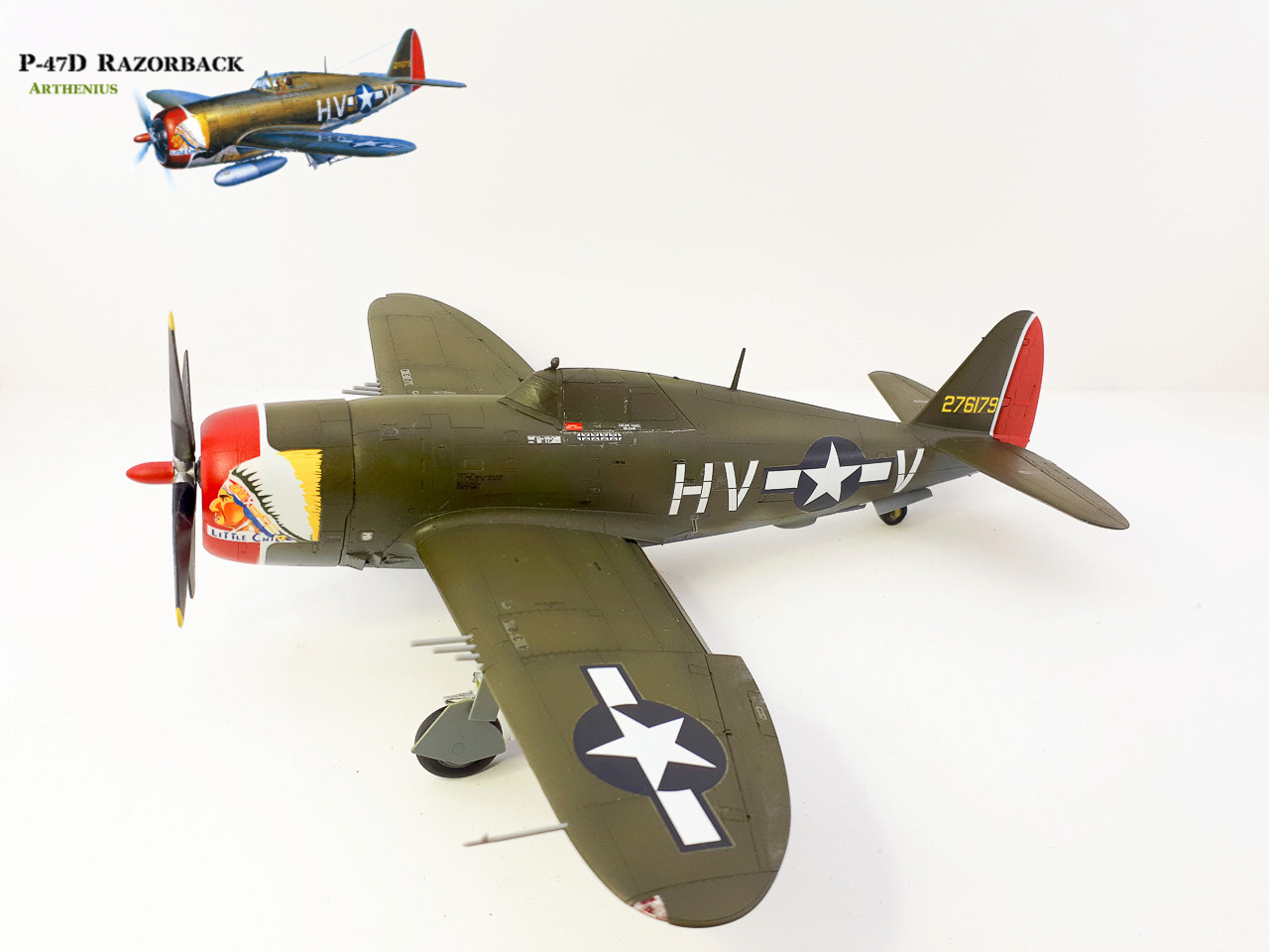 P-47D Razorback - Tamiya 1/48eme + PE Eduard - Page 3 2018-284
