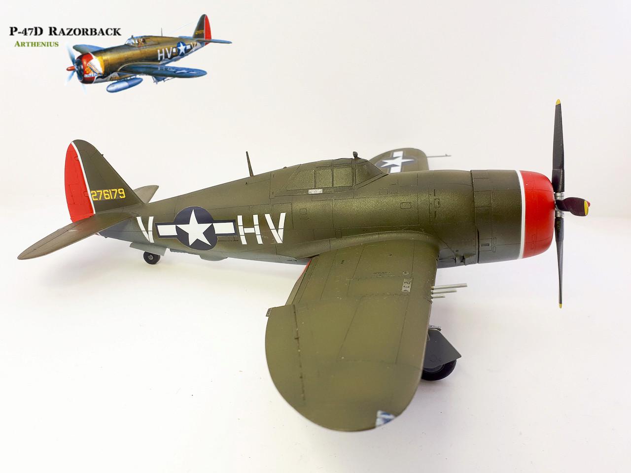 P-47D Razorback - Tamiya 1/48eme + PE Eduard - Page 3 2018-285