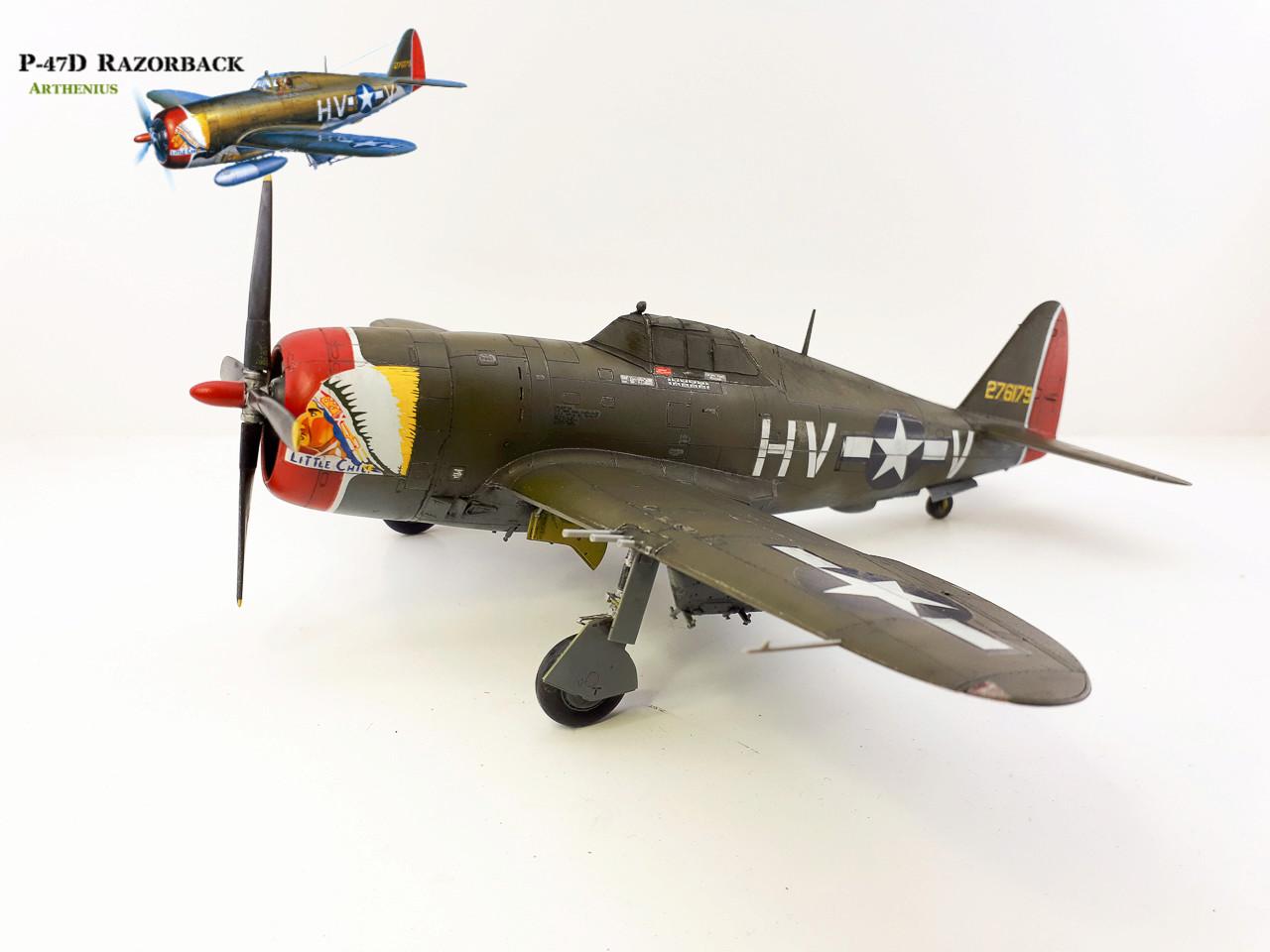 P-47D Razorback - Tamiya 1/48eme + PE Eduard - Page 4 2018-286