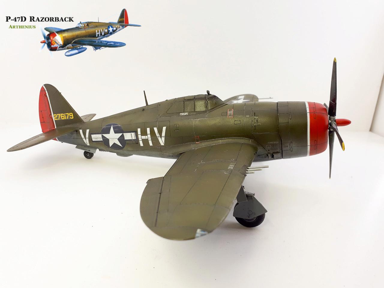 P-47D Razorback - Tamiya 1/48eme + PE Eduard - Page 4 2018-287