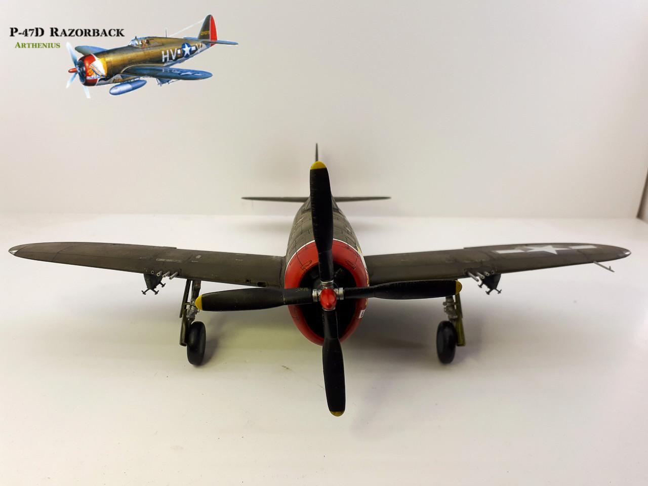 P-47D Razorback - Tamiya 1/48eme + PE Eduard - Page 4 2018-288