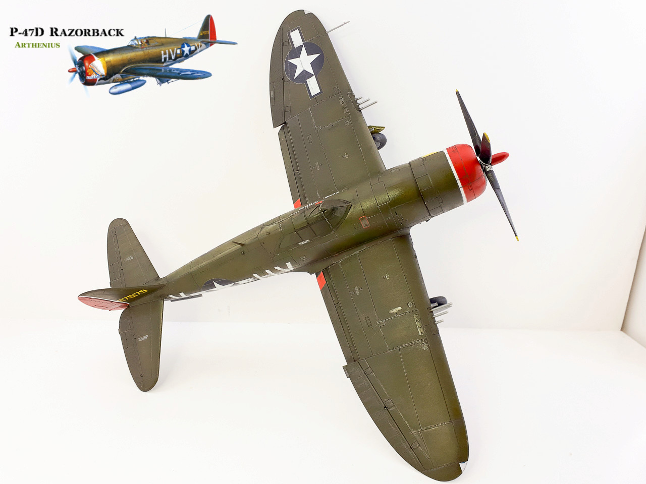 P-47D Razorback - Tamiya 1/48eme + PE Eduard - Page 4 2018-289