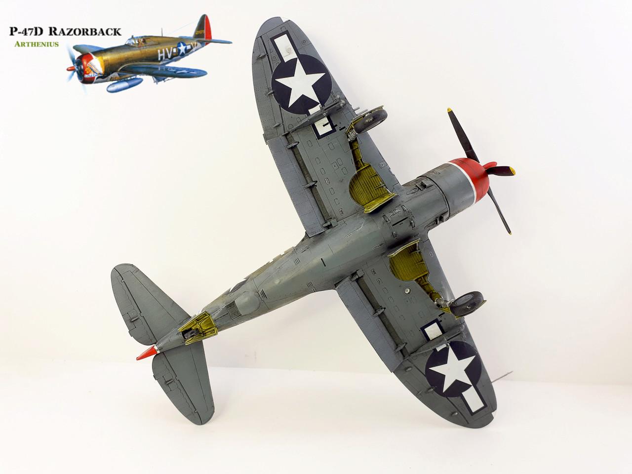 P-47D Razorback - Tamiya 1/48eme + PE Eduard - Page 4 2018-290