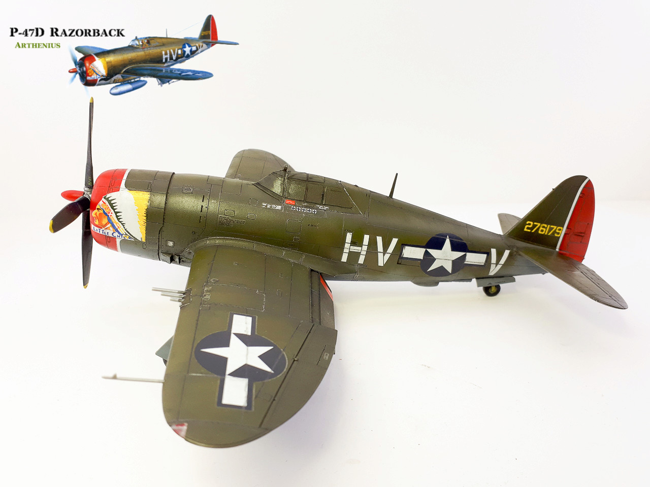 P-47D Razorback - Tamiya 1/48eme + PE Eduard - Page 4 2018-291