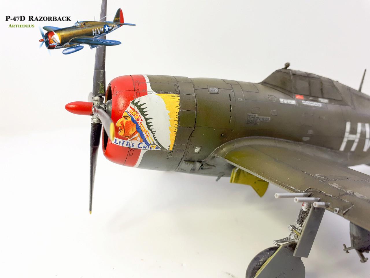 P-47D Razorback - Tamiya 1/48eme + PE Eduard - Page 4 2018-292