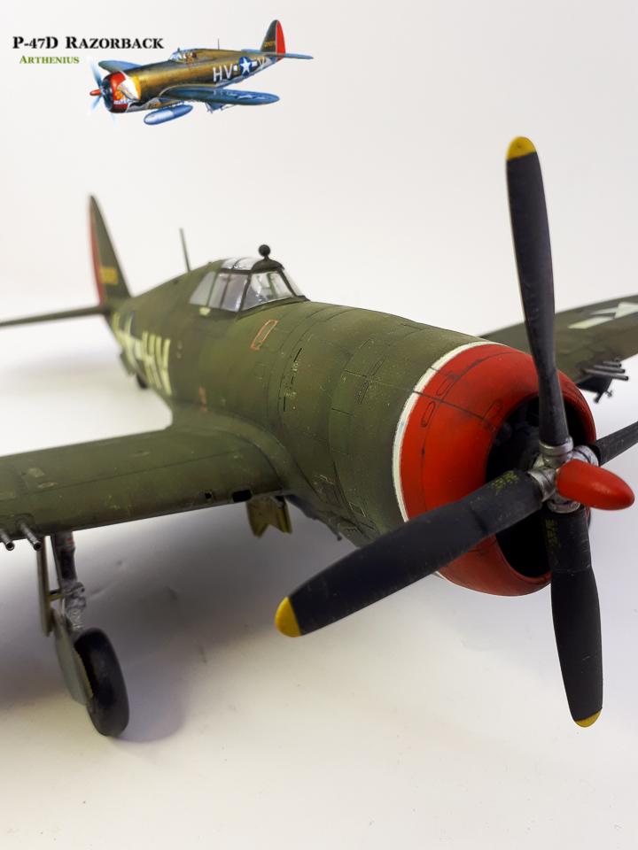 P-47D Razorback - Tamiya 1/48eme + PE Eduard - Page 4 2018-293