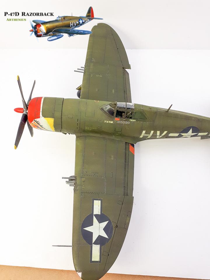 P-47D Razorback - Tamiya 1/48eme + PE Eduard - Page 4 2018-294