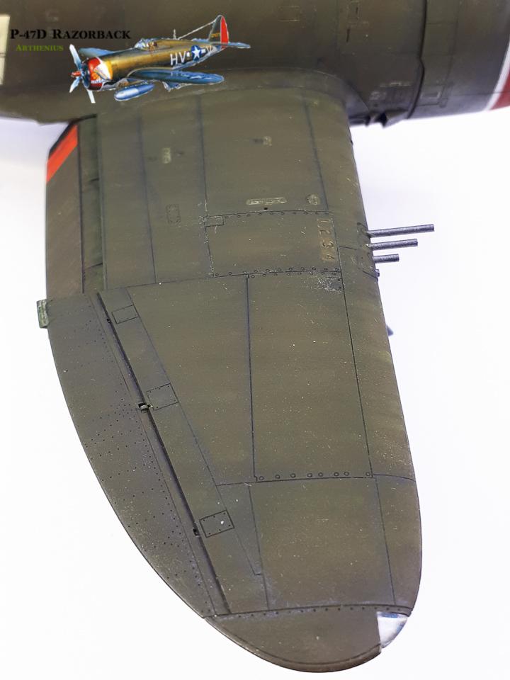 P-47D Razorback - Tamiya 1/48eme + PE Eduard - Page 4 2018-295