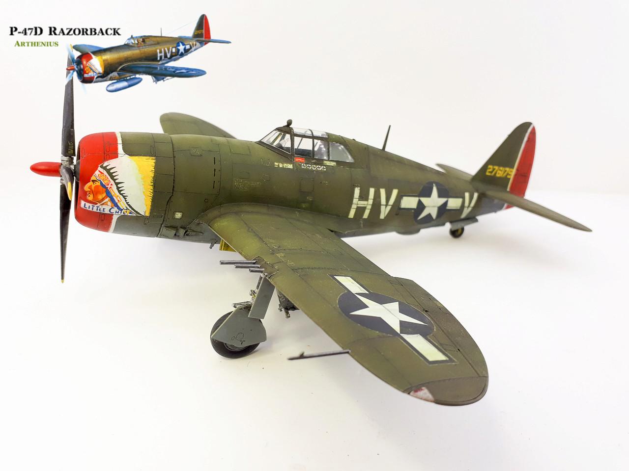 P-47D Razorback - Tamiya 1/48eme + PE Eduard - Page 4 2018-296
