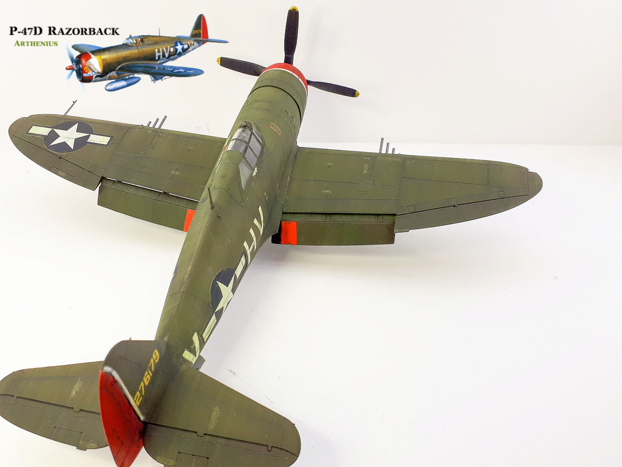P-47D Razorback - Tamiya 1/48eme + PE Eduard - Page 4 2018-298