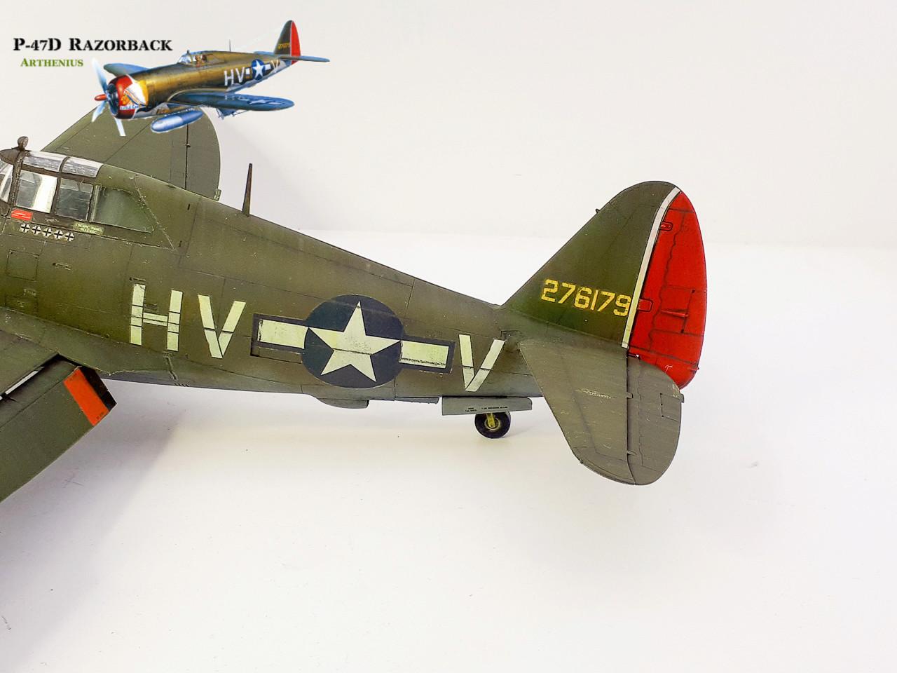 P-47D Razorback - Tamiya 1/48eme + PE Eduard - Page 4 2018-299