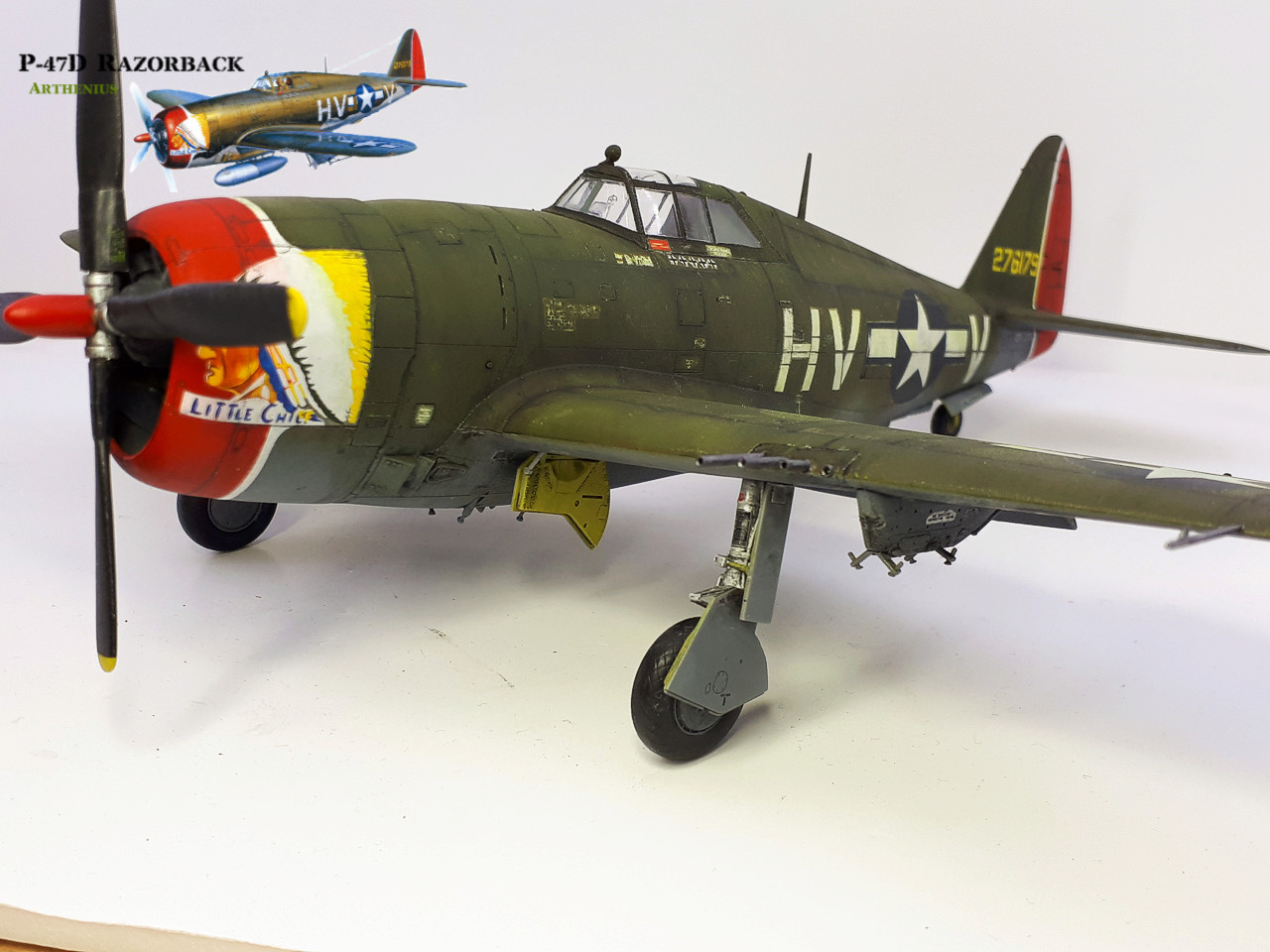 P-47D Razorback - Tamiya 1/48eme + PE Eduard - Page 4 2018-300