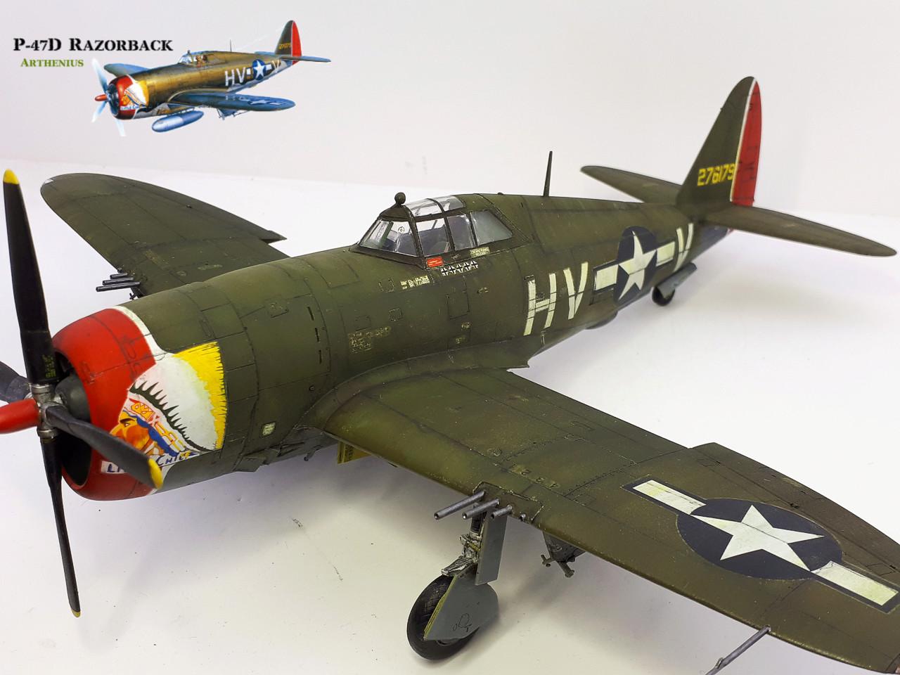P-47D Razorback - Tamiya 1/48eme + PE Eduard - Page 4 2018-301