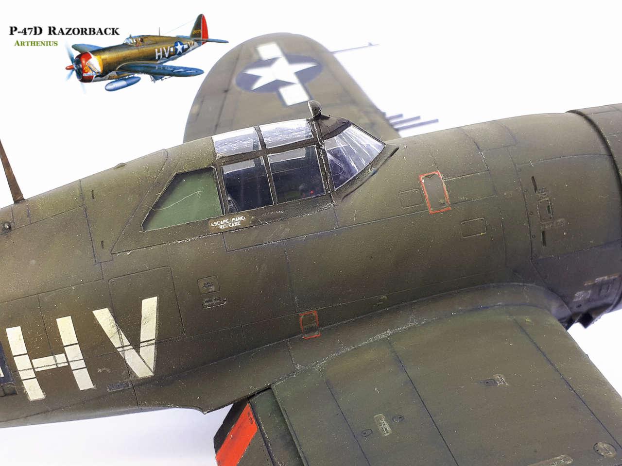 P-47D Razorback - Tamiya 1/48eme + PE Eduard - Page 4 2018-302
