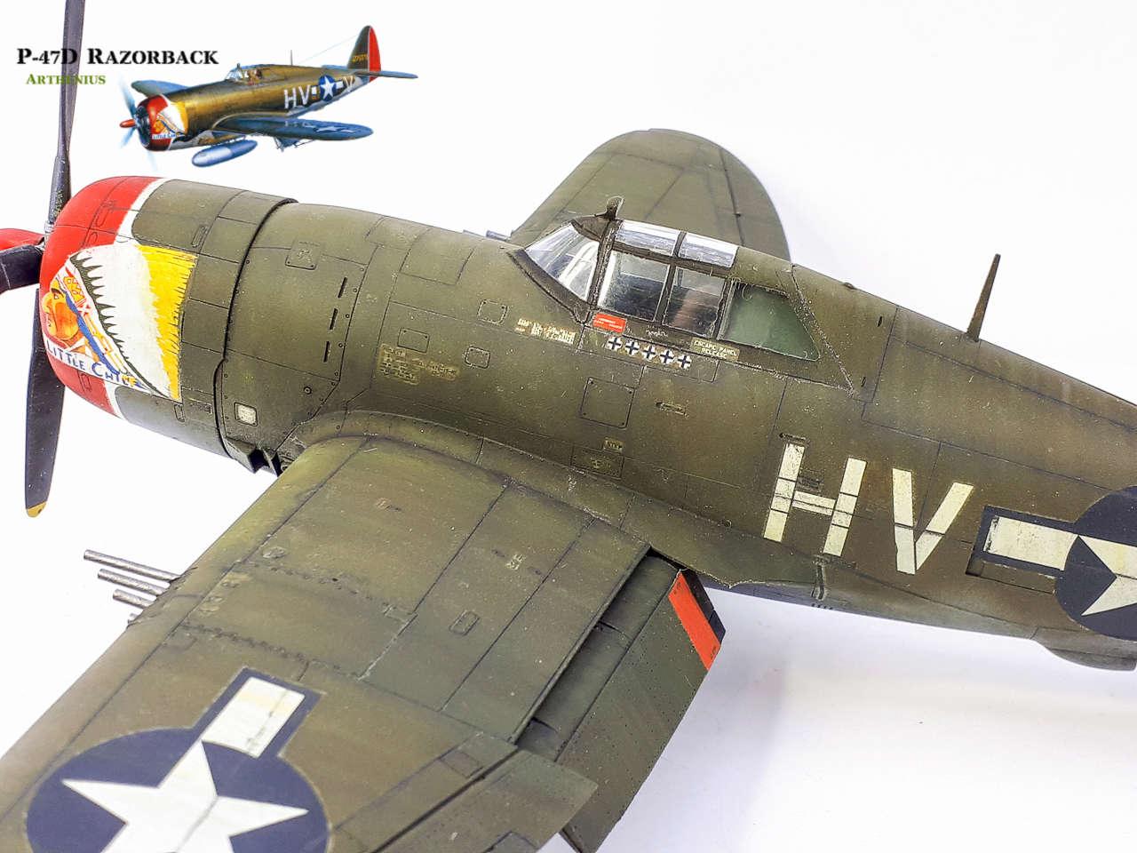 P-47D Razorback - Tamiya 1/48eme + PE Eduard - Page 4 2018-303