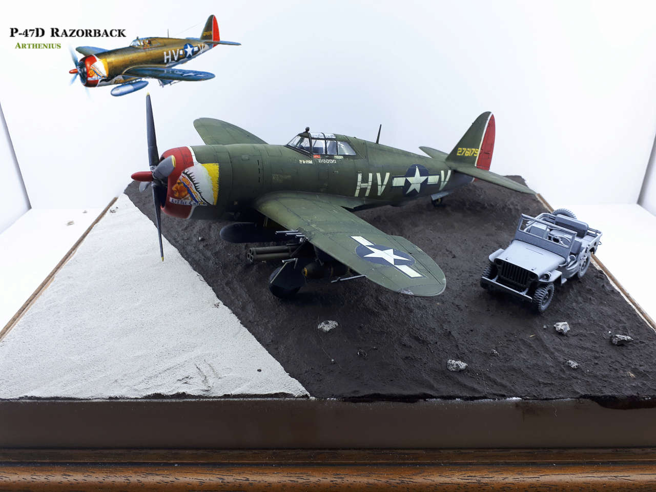 P-47D Razorback - Tamiya 1/48eme + PE Eduard - Page 4 2018-307
