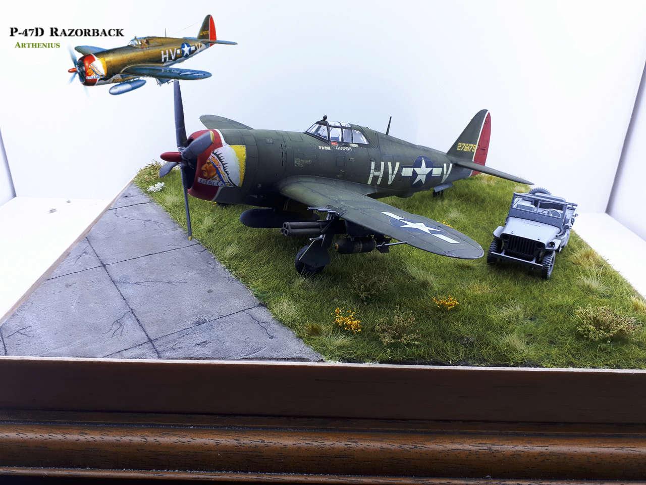 P-47D Razorback - Tamiya 1/48eme + PE Eduard - Page 4 2018-309