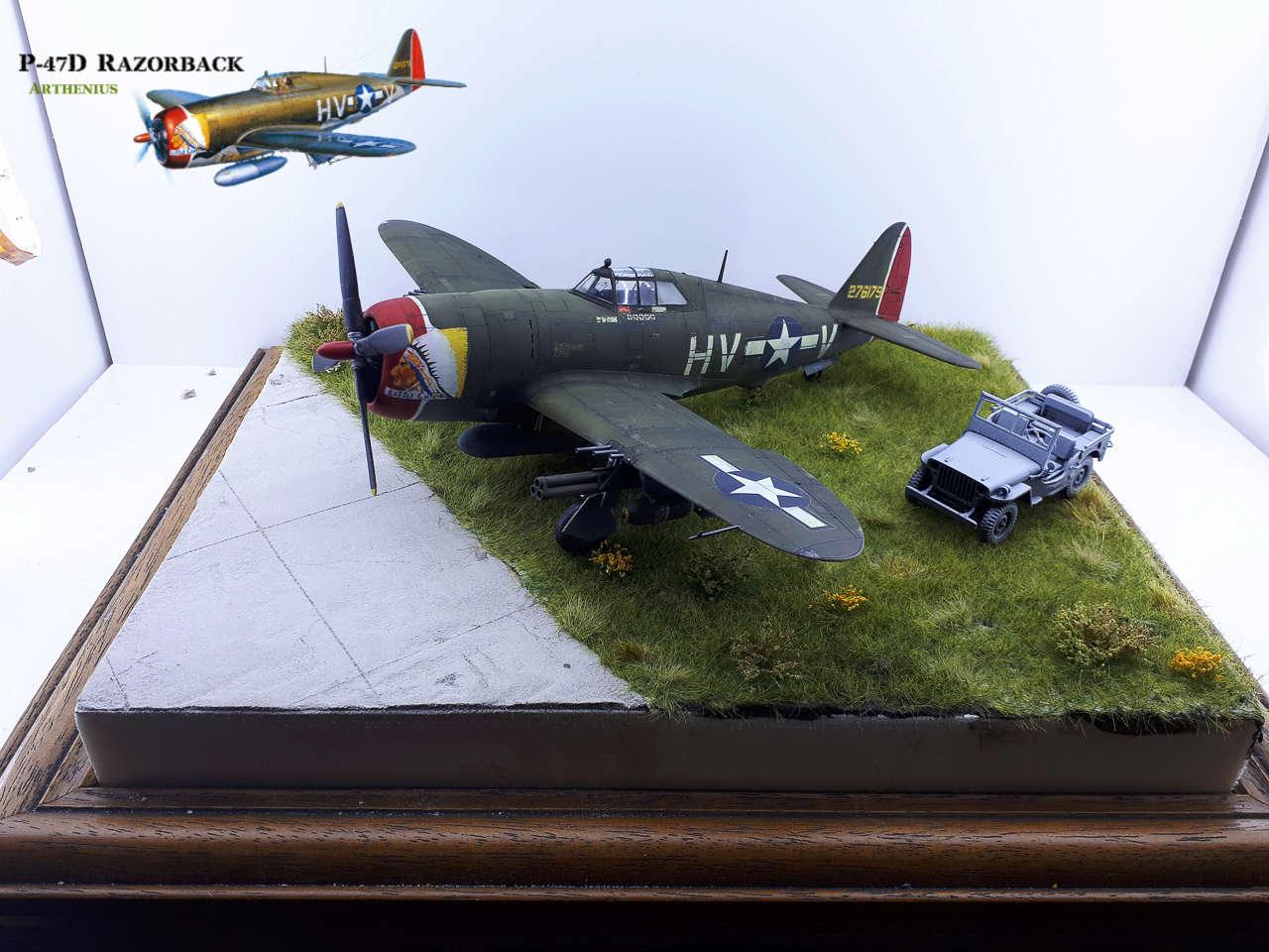 P-47D Razorback - Tamiya 1/48eme + PE Eduard - Page 4 2018-310