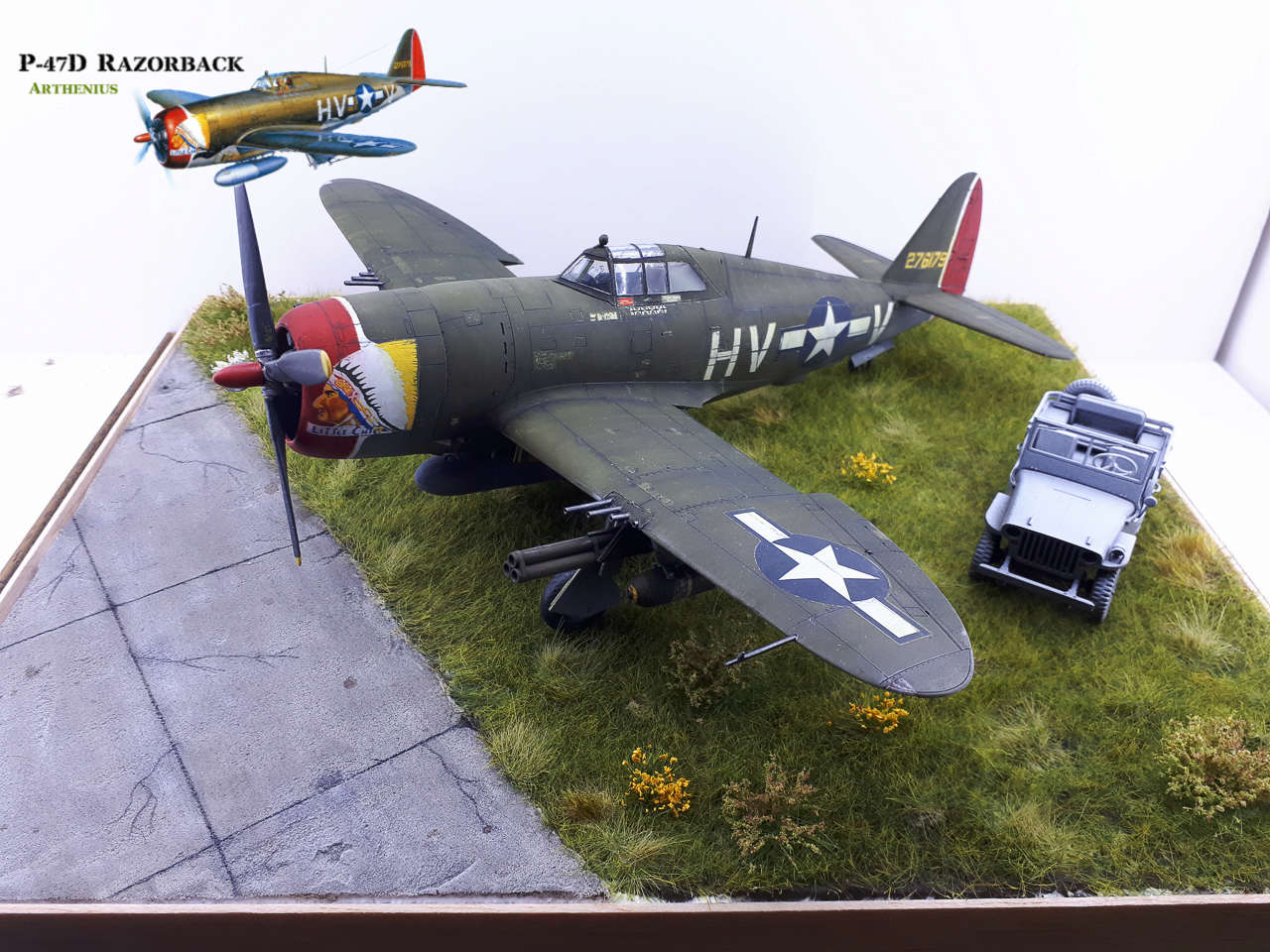 P-47D Razorback - Tamiya 1/48eme + PE Eduard - Page 4 2018-311