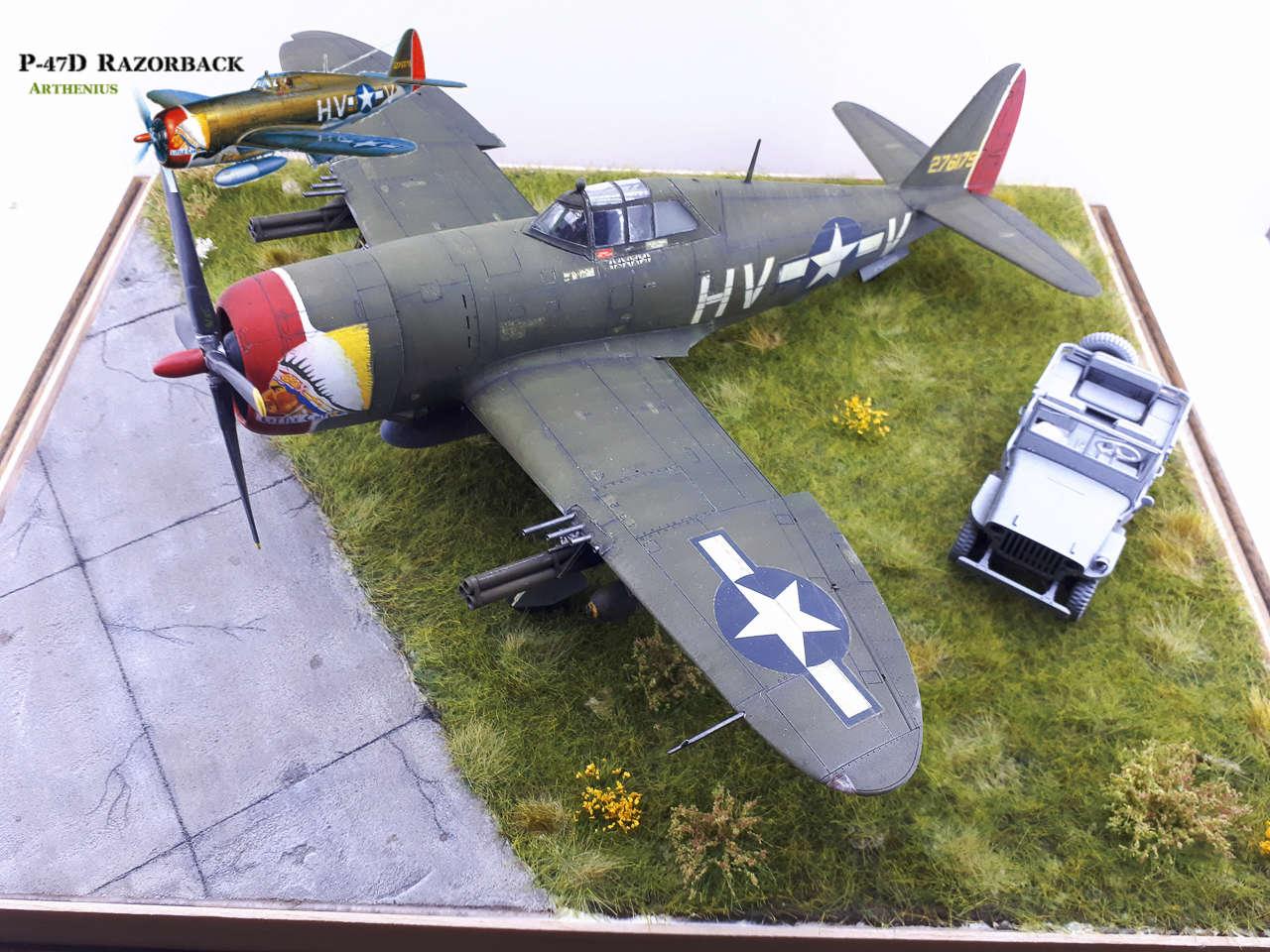 P-47D Razorback - Tamiya 1/48eme + PE Eduard - Page 4 2018-312