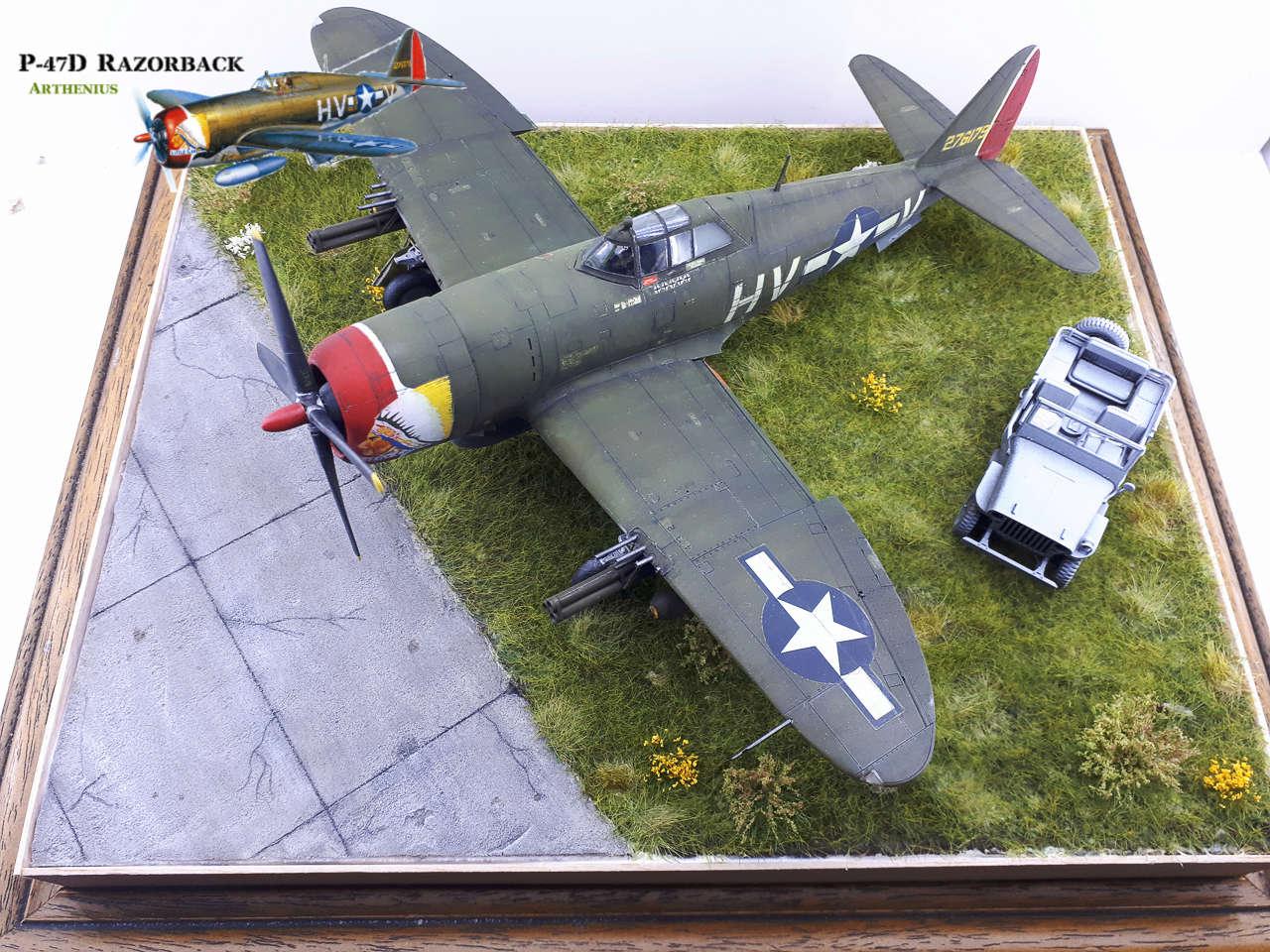 P-47D Razorback - Tamiya 1/48eme + PE Eduard - Page 4 2018-313