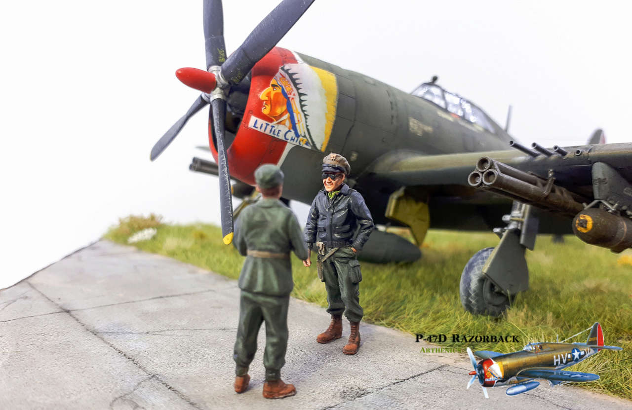 P-47D Razorback - Tamiya 1/48eme + PE Eduard - Page 5 2018-317