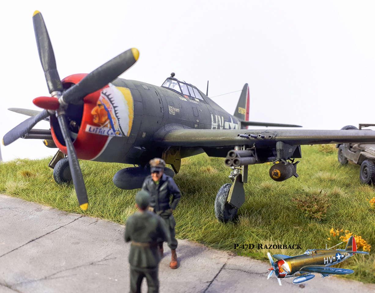 P-47D Razorback - Tamiya 1/48eme + PE Eduard - Page 5 2018-320