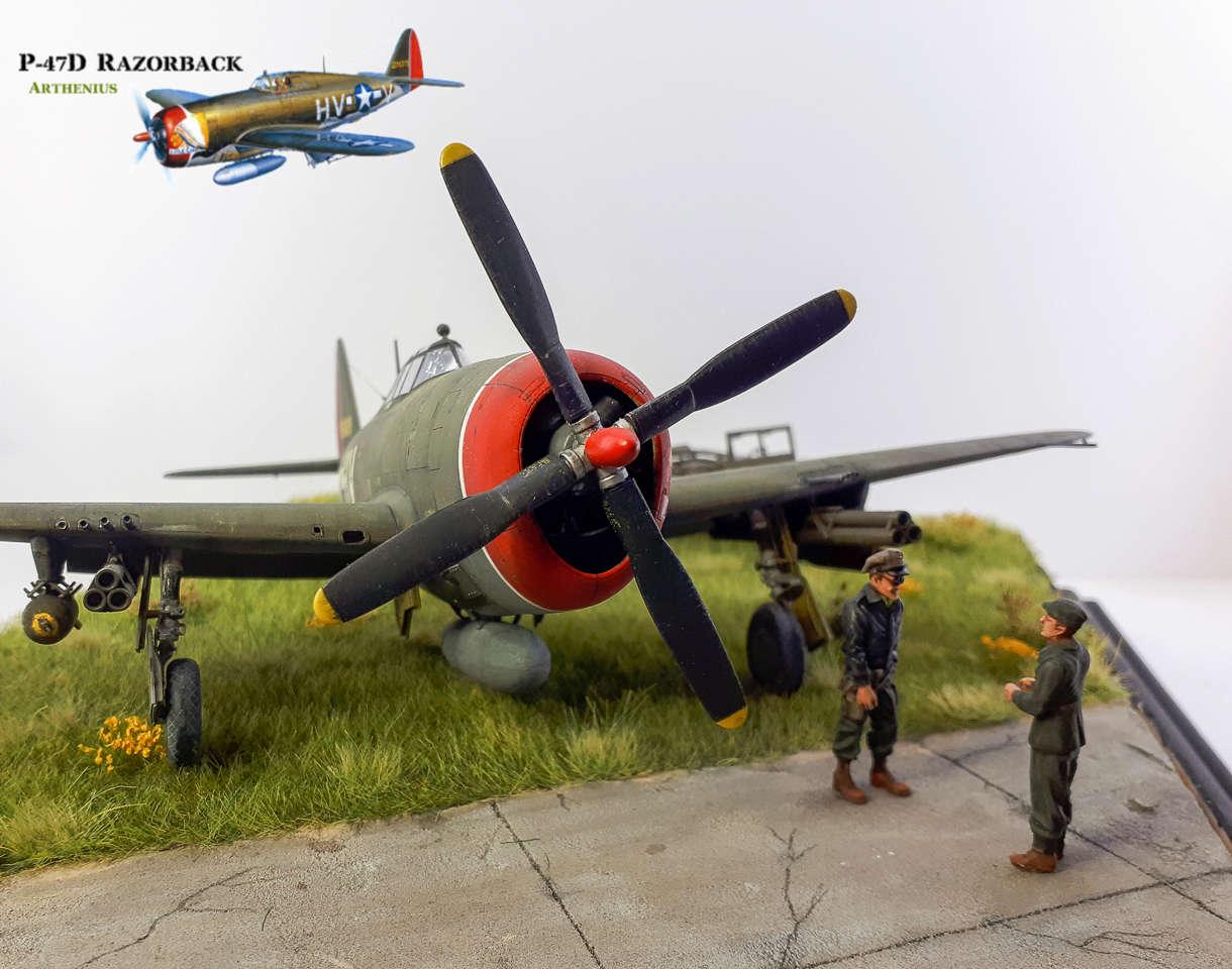 P-47D Razorback - Tamiya 1/48eme + PE Eduard - Page 5 2018-321