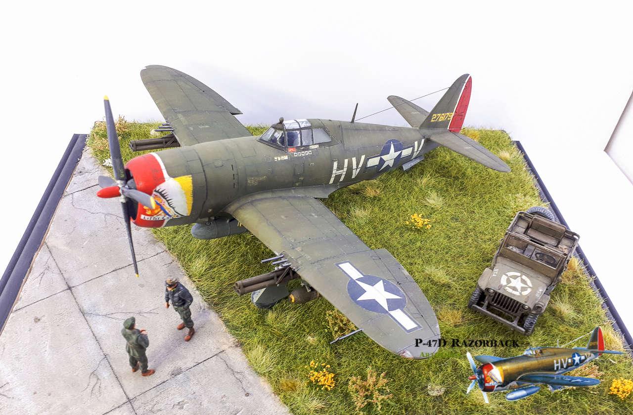 P-47D Razorback - Tamiya 1/48eme + PE Eduard - Page 5 2018-323
