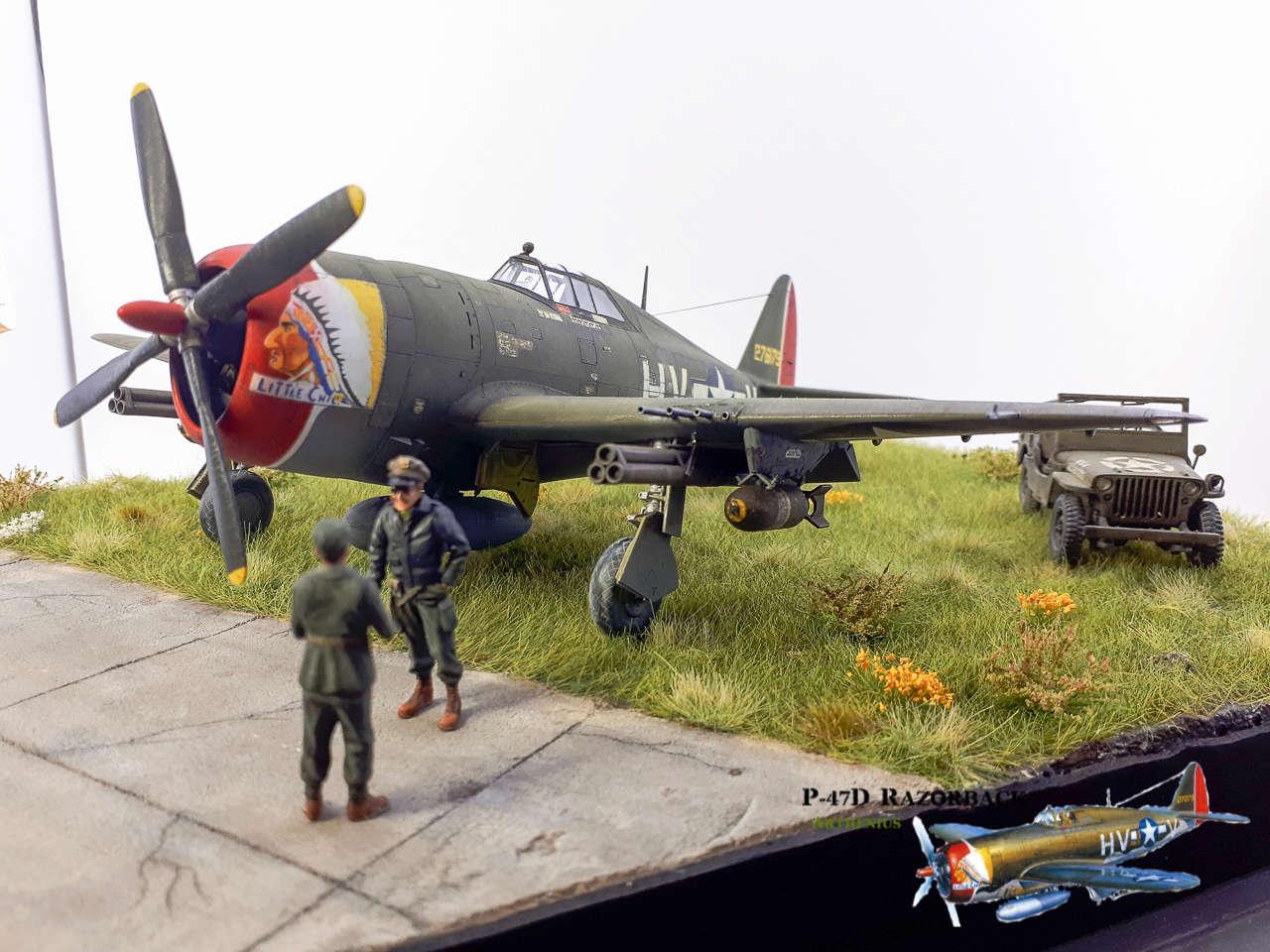P-47D Razorback - Tamiya 1/48eme + PE Eduard - Page 5 2018-324