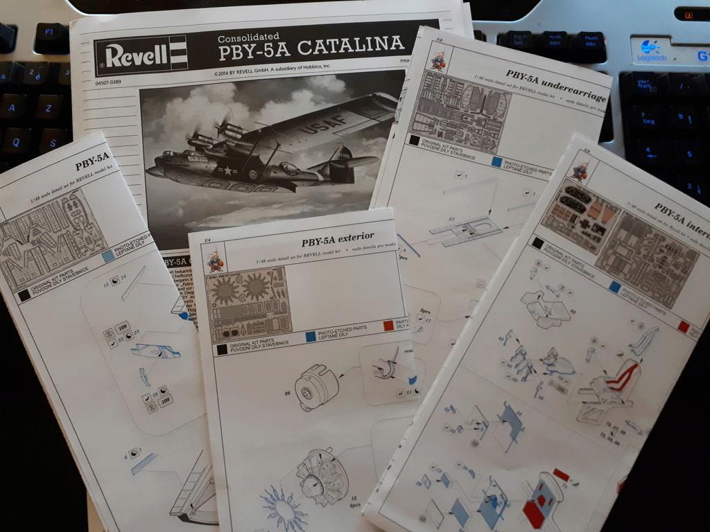 Catalina au secours de Tom EMRICH - 1/48ème Revell + photo-découpe Eduard 2018-334