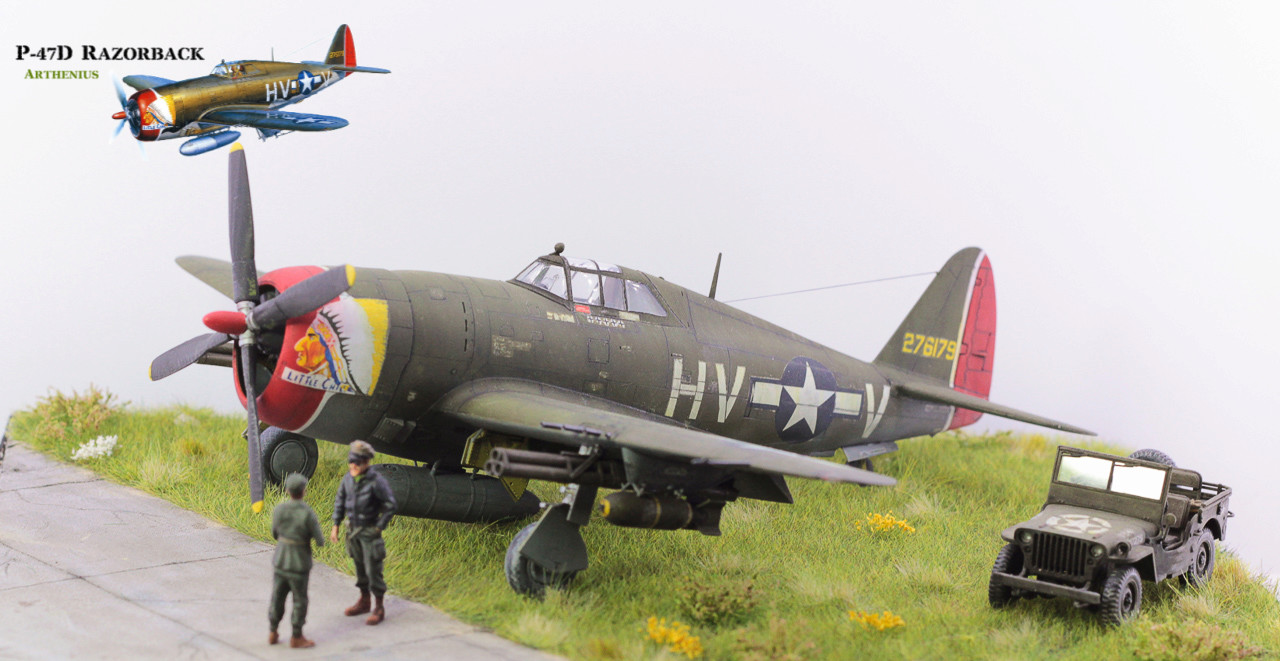 P-47D Razorback - Tamiya 1/48eme + PE Eduard - Page 5 Img_1710