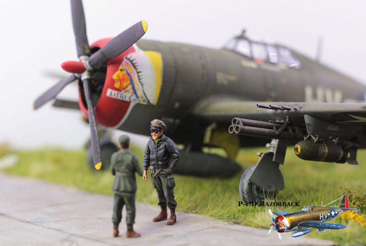 P-47D Razorback - Tamiya 1/48eme + PE Eduard - Page 5 Img_1711