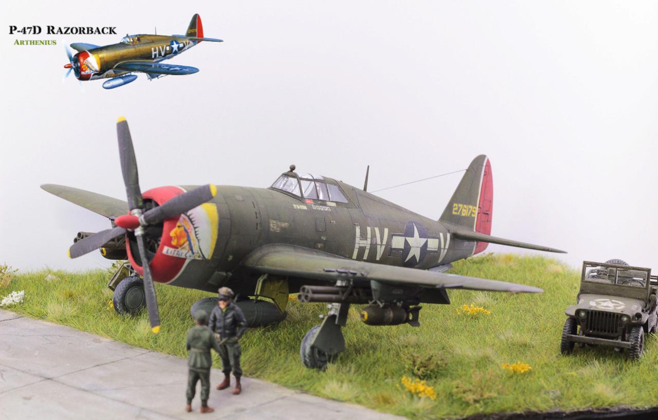 P-47D Razorback - Tamiya 1/48eme + PE Eduard - Page 5 Img_1712