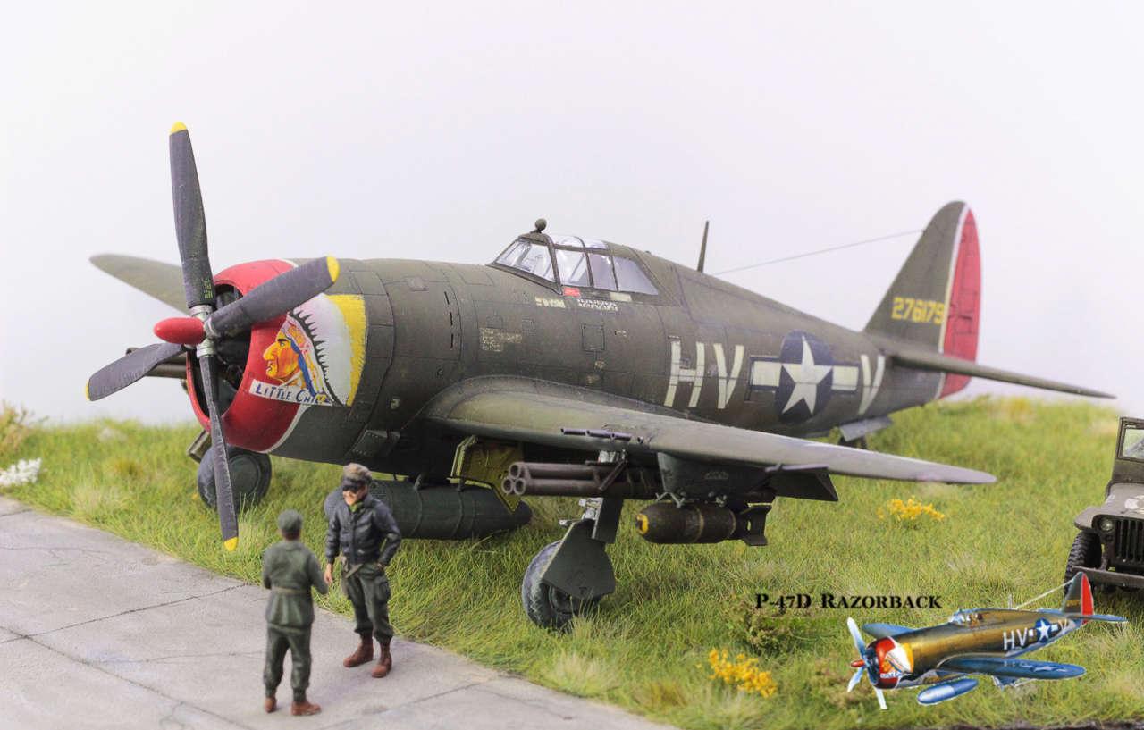 P-47D Razorback - Tamiya 1/48eme + PE Eduard - Page 5 Img_1713