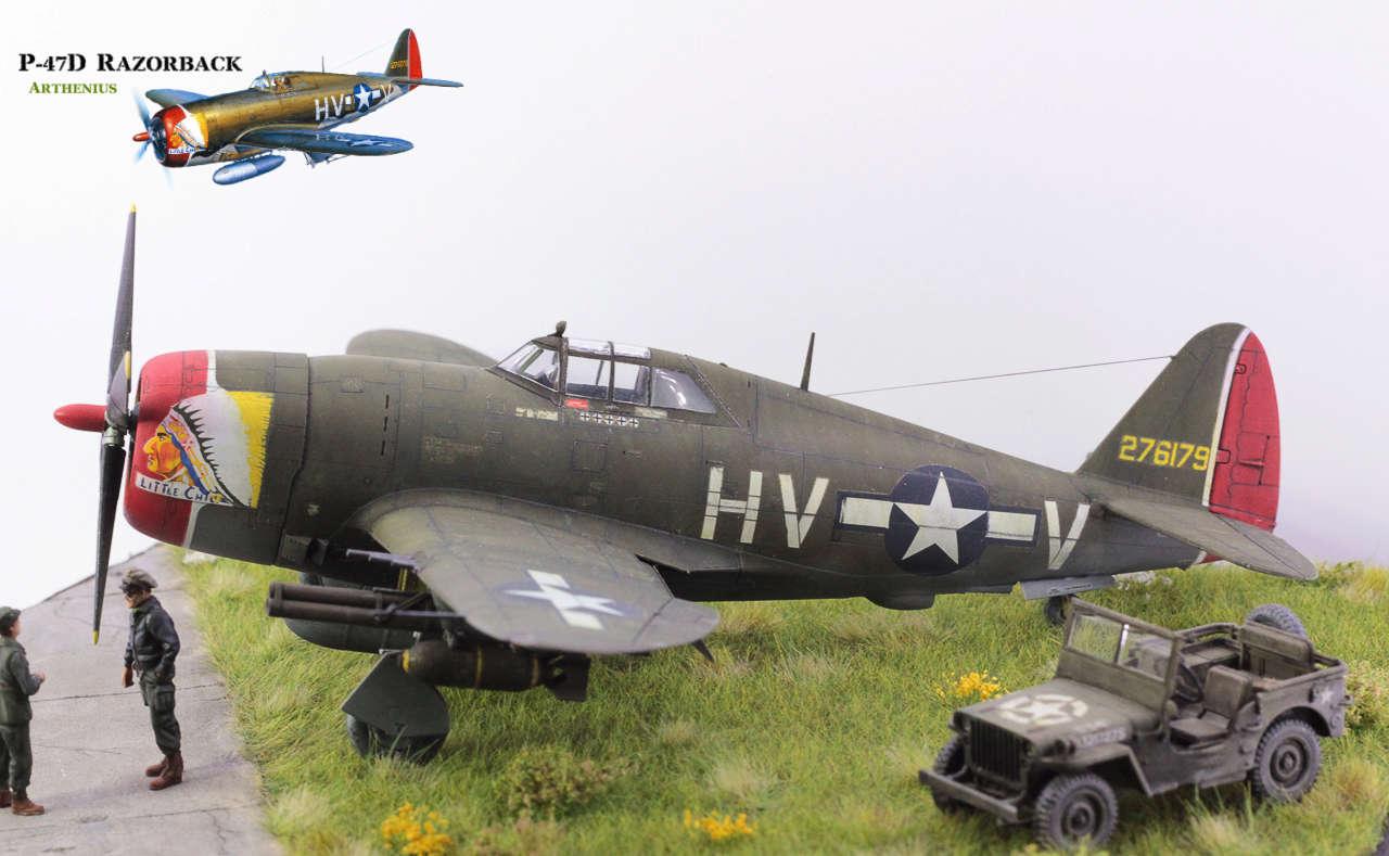 P-47D Razorback - Tamiya 1/48eme + PE Eduard - Page 5 Img_1714