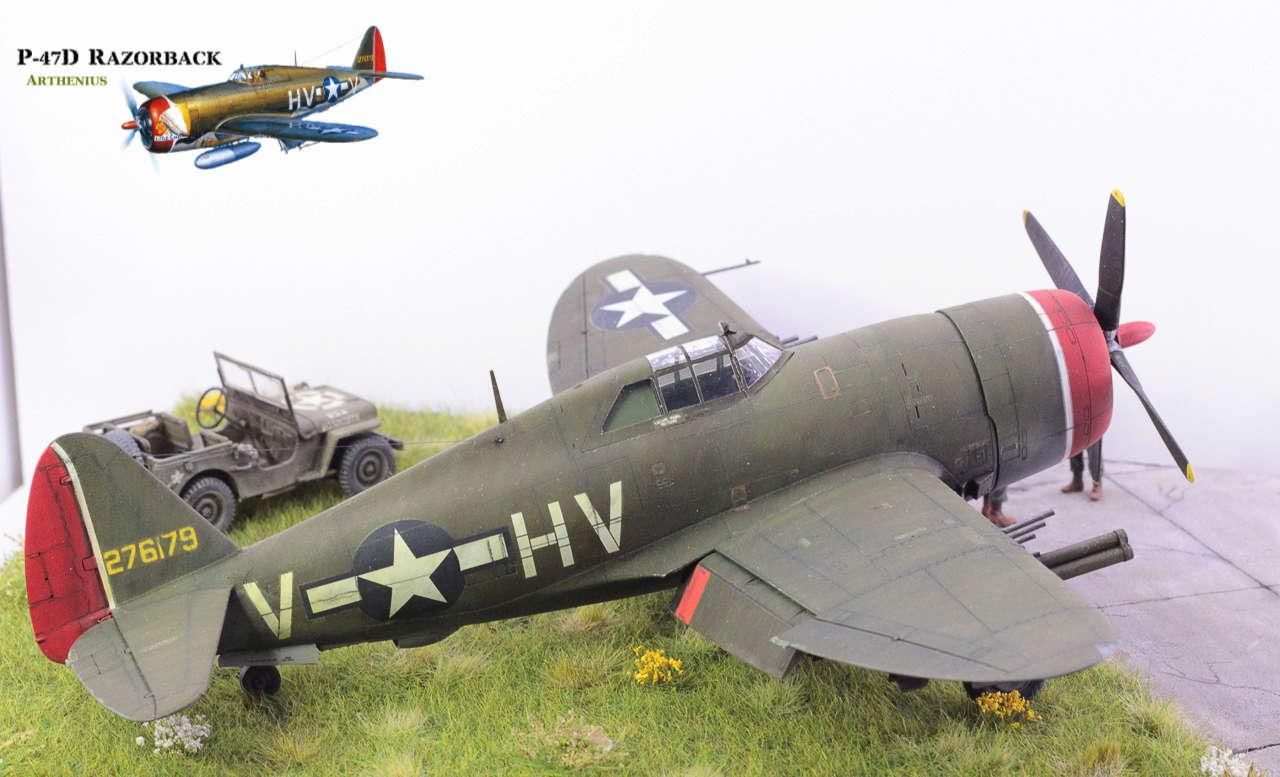 P-47D Razorback - Tamiya 1/48eme + PE Eduard - Page 5 Img_1715