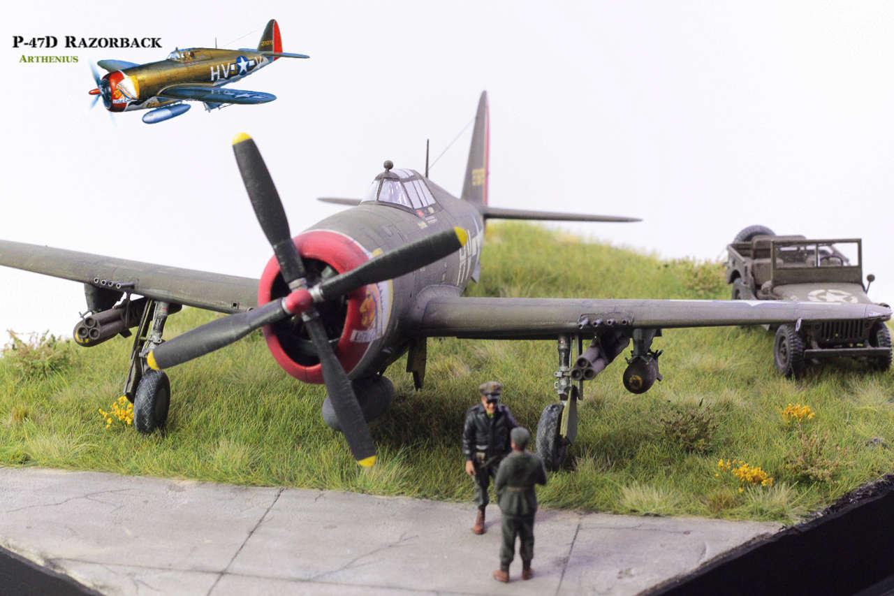 P-47D Razorback - Tamiya 1/48eme + PE Eduard - Page 5 Img_1716