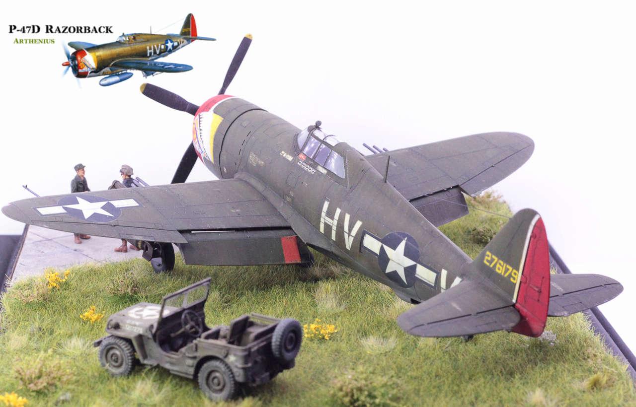 P-47D Razorback - Tamiya 1/48eme + PE Eduard - Page 5 Img_1717