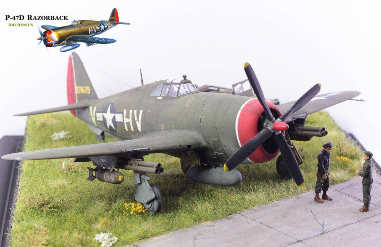 P-47D Razorback - Tamiya 1/48eme + PE Eduard - Page 5 Img_1718
