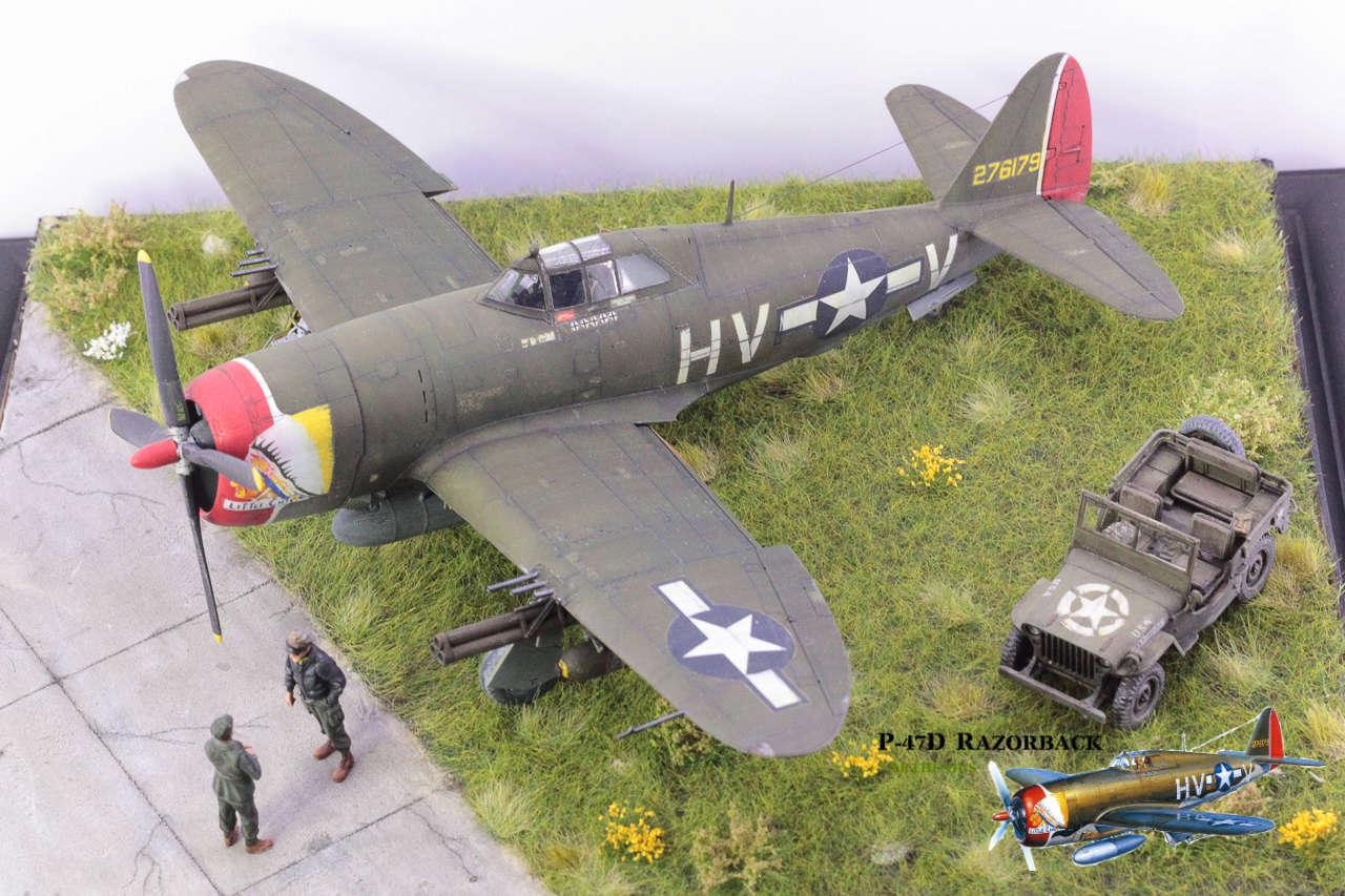 P-47D Razorback - Tamiya 1/48eme + PE Eduard - Page 5 Img_1720