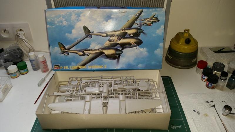 P38-L Put Put Maru Hasegawa 1/48 Boite10