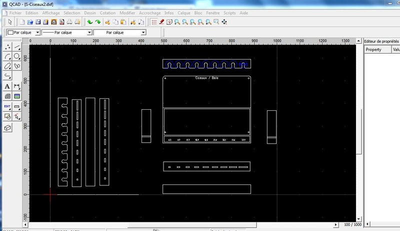 logiciel dessin Qcad10
