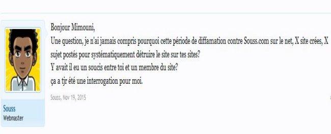 Jellouni souss.com reconnait l'offensive de Mimouni sur son forum Soussc10